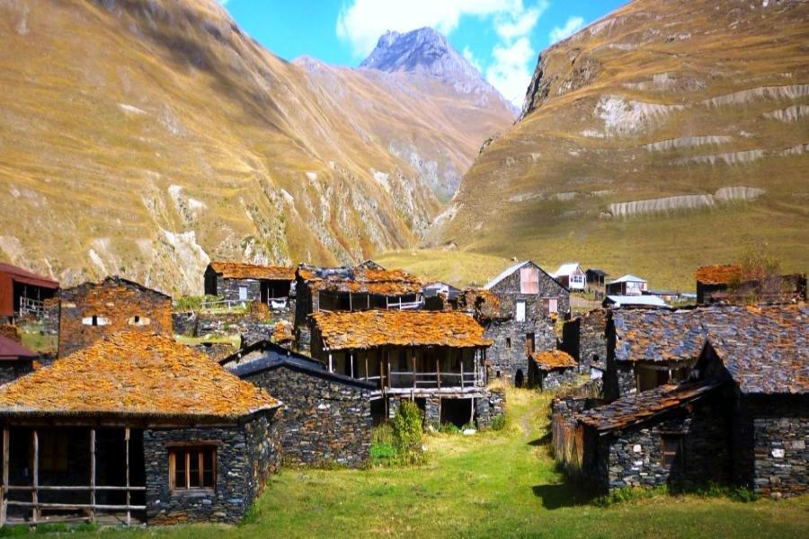 Высокогорные села Грузии