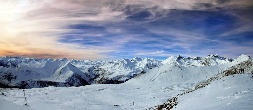 Зима в горах Грузии