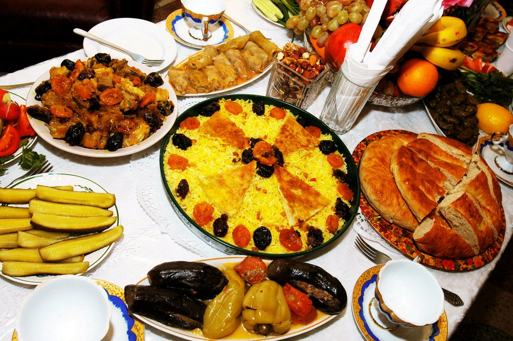 Лучшие грузинские блюда