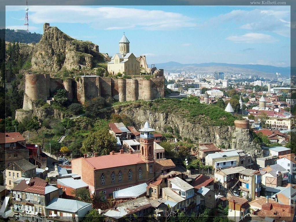 Нарикала, Достопримечательности Тбилиси