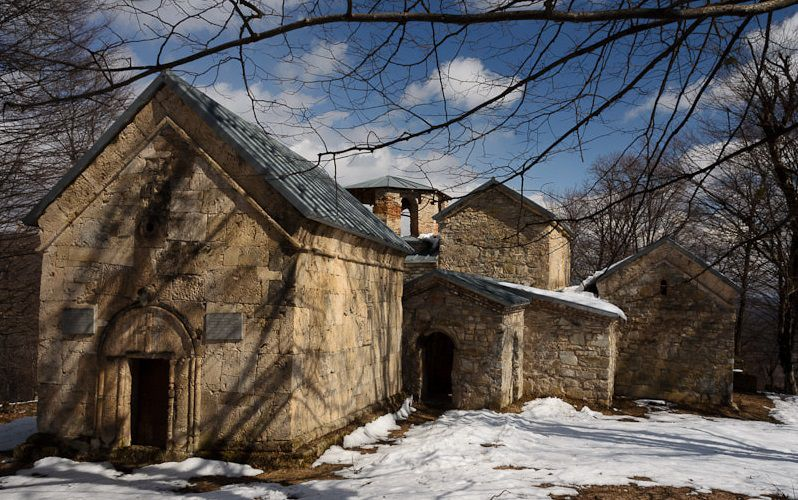 монастырский комплекс Цхракара