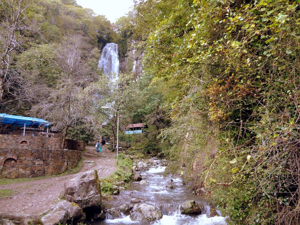водопад Махунцети