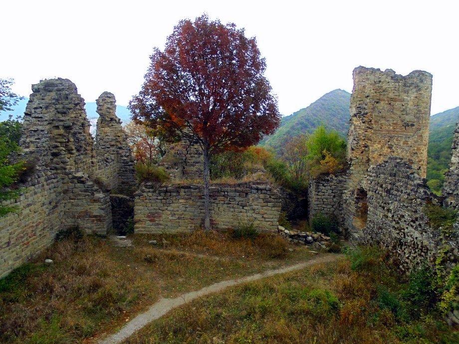 крепость Уджарма, тур по Кахетии