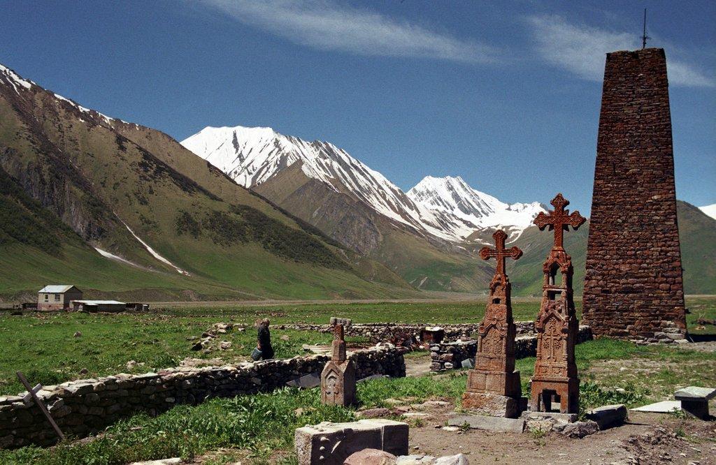 село Трусо, тур по Хевсуретии и ущельям Казбеги