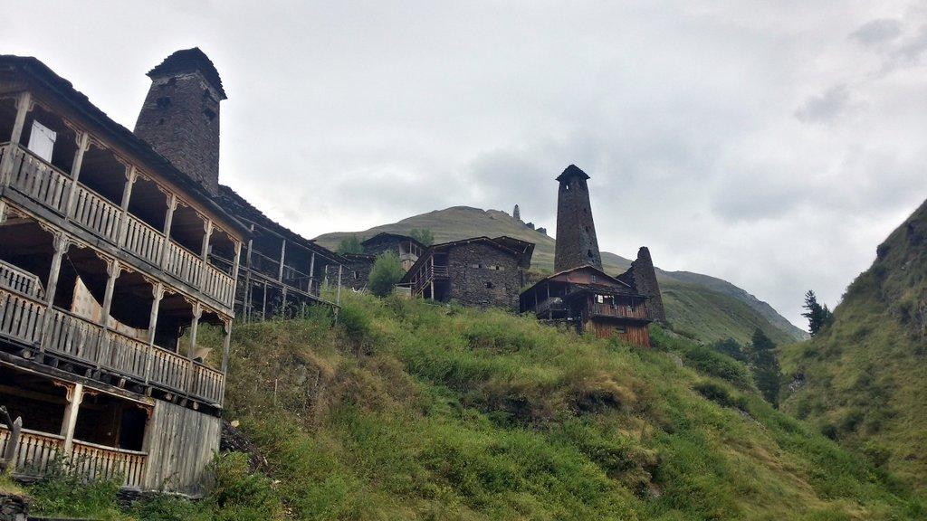 село и крепость Дикло