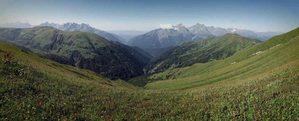 Альпийские Луга Грузии