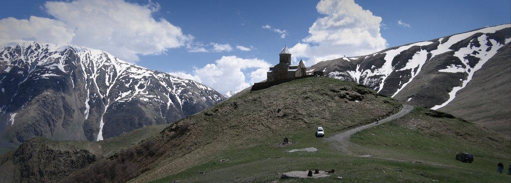 Горные панорамы Грузии