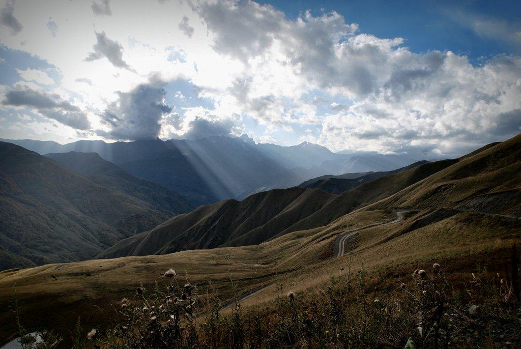 Наслаждение величием гор