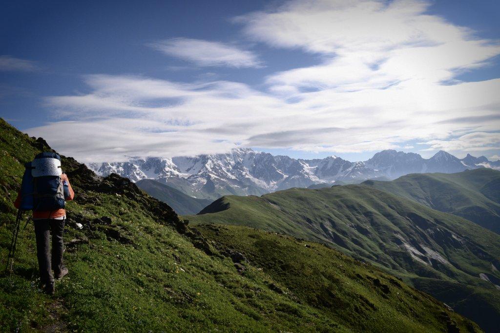 Трекинговые прогулки по горам Грузии